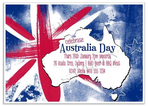 design your own birthday invitations australia australia day invitation diy printable digital file sassaby madeit au