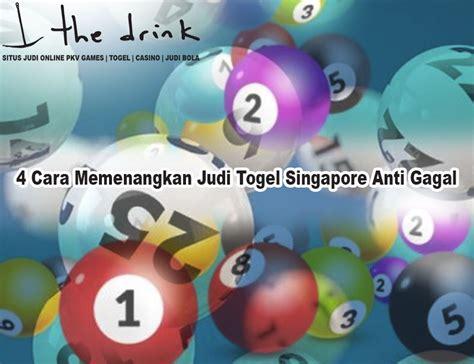 togel singapore   memenangkan judi togel singapore anti gagal