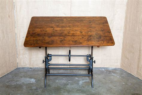 hamilton manufacturing company drafting table vintage american drafting table by hamilton at 1stdibs