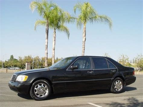 how cars engines work 1993 mercedes benz 400sel lane departure warning sell used 1993 mercedes benz 400sel 400 sel 63k chrome rims low price no reserve l k now in