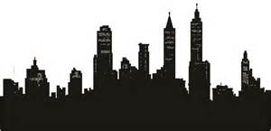 wsd5 city skyline silhouette removable wall sticker skyline wall stickers reviews online shopping skyline