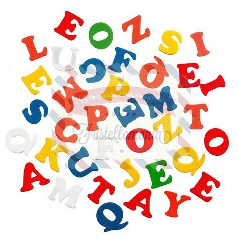lettere alfabeto adesive fustellati 135 pezzi lettere alfabeto in fommy adesive