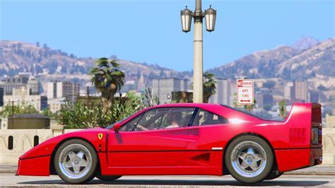 Gta 5 Ferrari Cheat by 1987 Ferrari F40 Gta5 Mods