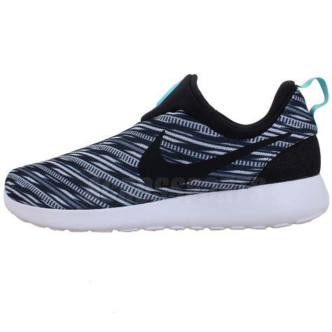 Running Shoes Nike Rosherun Black White nike rosherun slip on gpx geometric white black roshe run nsw mens casual shoes ebay