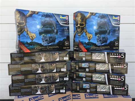 Black Pearl Limited Edition revell of the caribbean black pearl bouwen 05699