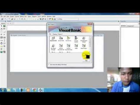 membuat view pada database mysql membuat aplikasi pada microsoft visual basic 6 0 dengan
