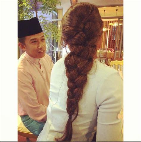 tutorial dandanan rambut 6 inspirasi gaya rambut untuk lebaran dari instagram