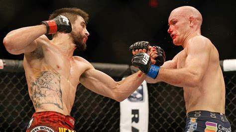 fight ink carlos condit roars about his lion inspired