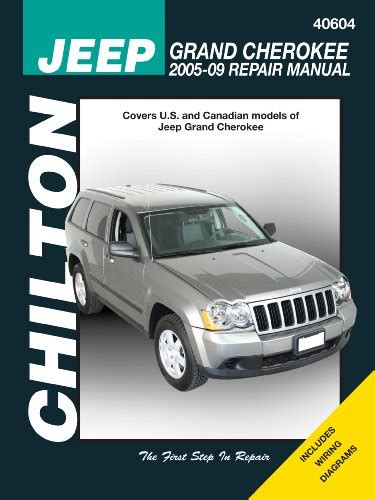 automotive service manuals 1998 jeep grand cherokee parking system jeep grand cherokee 2005 2009 chilton s total car care repair manuals at virtual parking