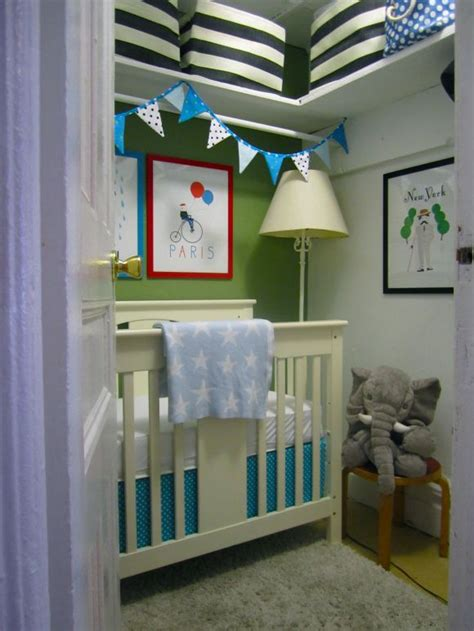 turning a closet into a nursery thinking ahead
