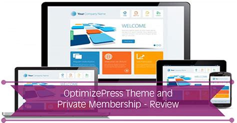 optimizepress blog theme optimizepress wordpress theme membership site review