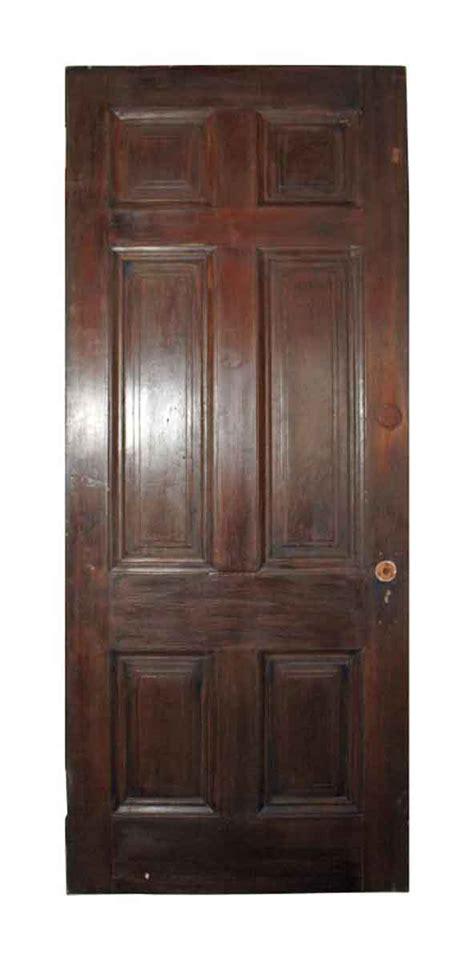 raised panel closet doors six vertical raised panel wood door olde things