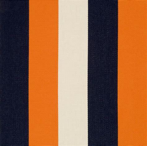 navy orange stripe upholstery fabric wide stripe fabric for
