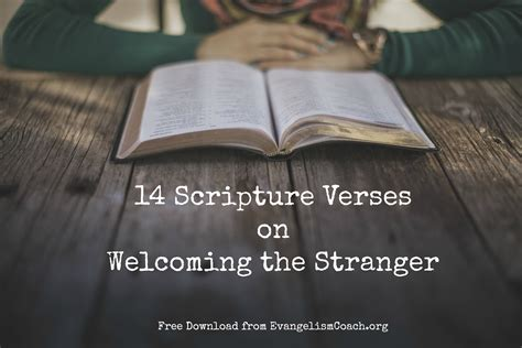 bible verses to welcome visitors to church