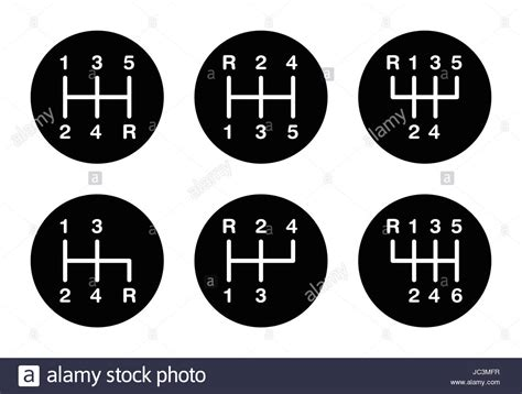 shift pattern en francais six different gear stick shift patterns positions for the