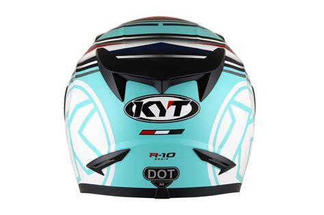Helm Kyt R10 Series Kyt R10 Flat Visor Circuit Edition Bmspeed7
