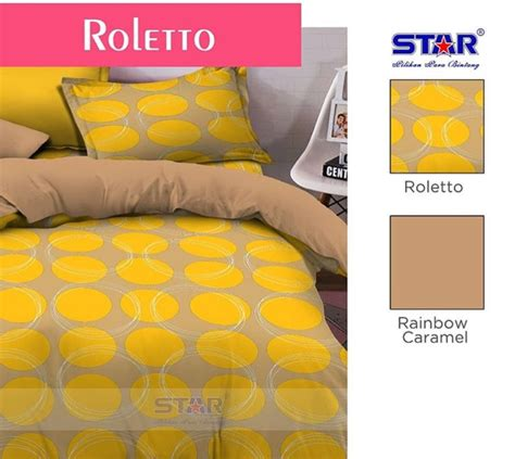Sprei Caramel Detail Produk Sprei Dan Bedcover Roletto Caramel Fataya