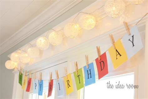 How To Make A Happy Birthday Banner Of Paper - 10 best diy birthday banners design dazzle