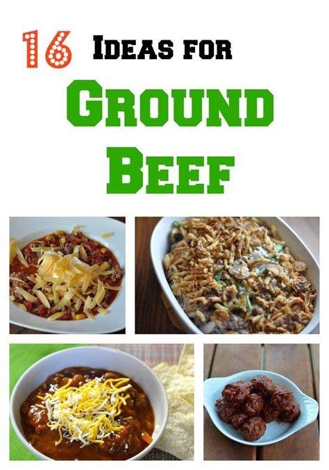 16 recipes for ground beef great ideas for dinner something new ideas and recipes for