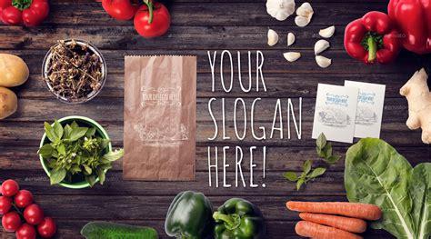 organic food mockup hero images scene generator