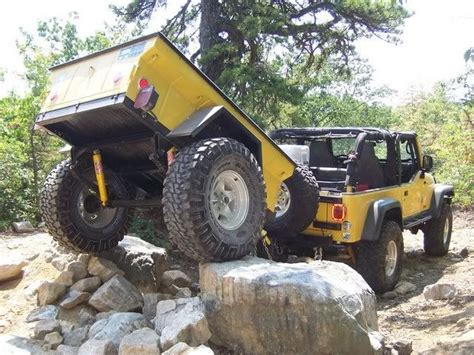 jeep offroad trailer 17 best images about expo vehicles on pinterest