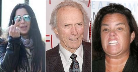 Donald Versus Rosie Odonnell A Real Lovehate Relationship by Clint Eastwood Blasts Haters Tells Them To Just F