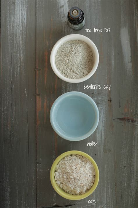 diy mask recipe 3 simple clay mask recipes live simply