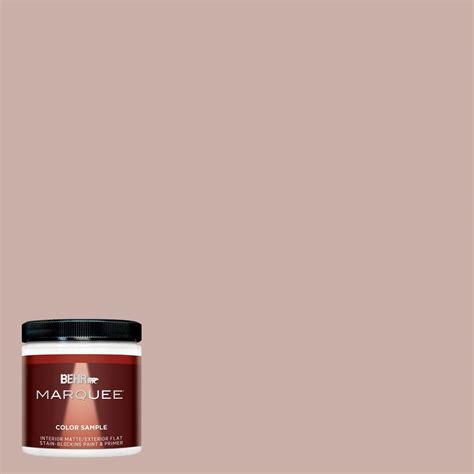 behr marquee 8 oz hdc ct 07a vintage tea matte interior exterior paint and primer sle