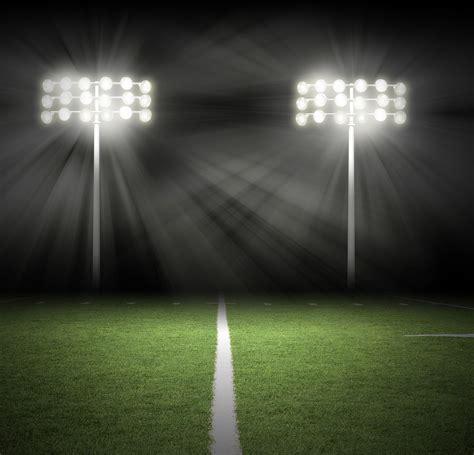a night at field of light football field lights at night www imgkid com the