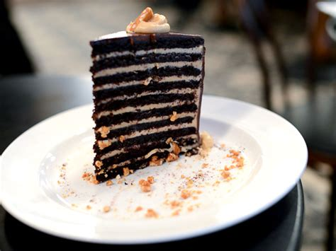 Chocolate Sous Vide Souffle Imbb 20 2 by Lavo S Chocolate Cake Is A 20 Layer Behemoth Serious Eats