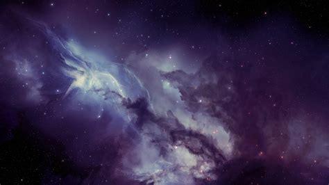 space space art nebula purple wallpapers hd desktop