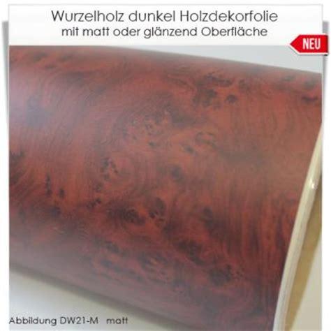 Folie Holzoptik Nussbaum by Dunkel Wurzelholz Holzdekor Klebefolie