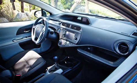 Prius C Interior by Car And Driver
