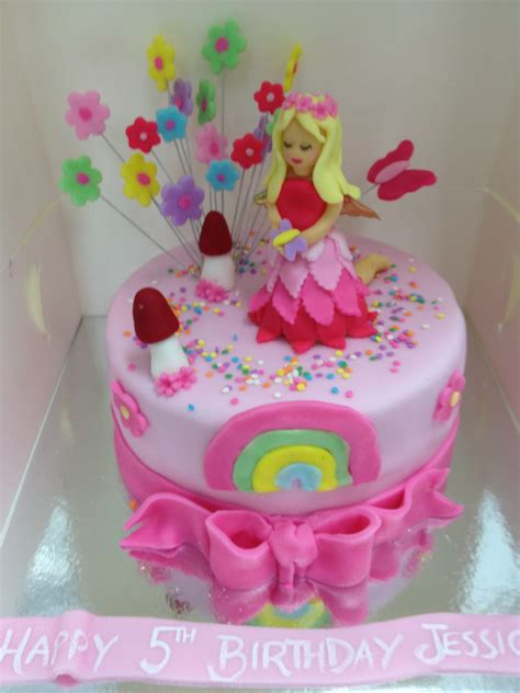 How To Decorate Birthday Party At Home pink fairy cake 8 inch 80 00