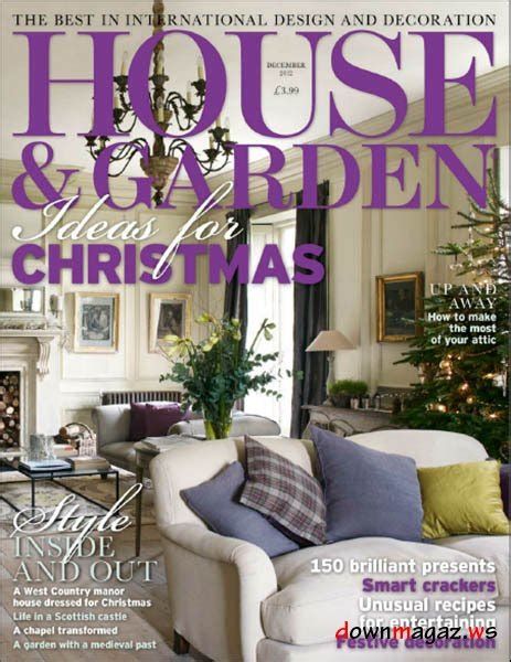 house and garden magazine house garden magazine december 2012 187 download pdf magazines magazines commumity
