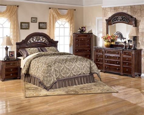 bedroom furniture ashley rent to own ashley gabriela queen bedroom set appliance