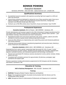 Best Executive Resume Samples executive assistant resume sample