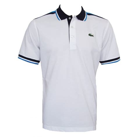 Lacoste Shirt pics for gt white lacoste shirt front and back