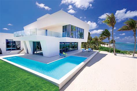 global houses listing of the day cayman island contemporary mansion