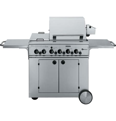 gas cooktop with grill 36 zgg36n21css ge monogram 174 36 quot outdoor cooking center with
