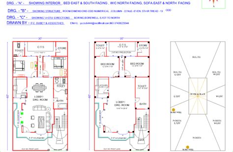 20 x 30 house plan homedesignpictures duplex house plans for 20x30 site home design 30 x 60