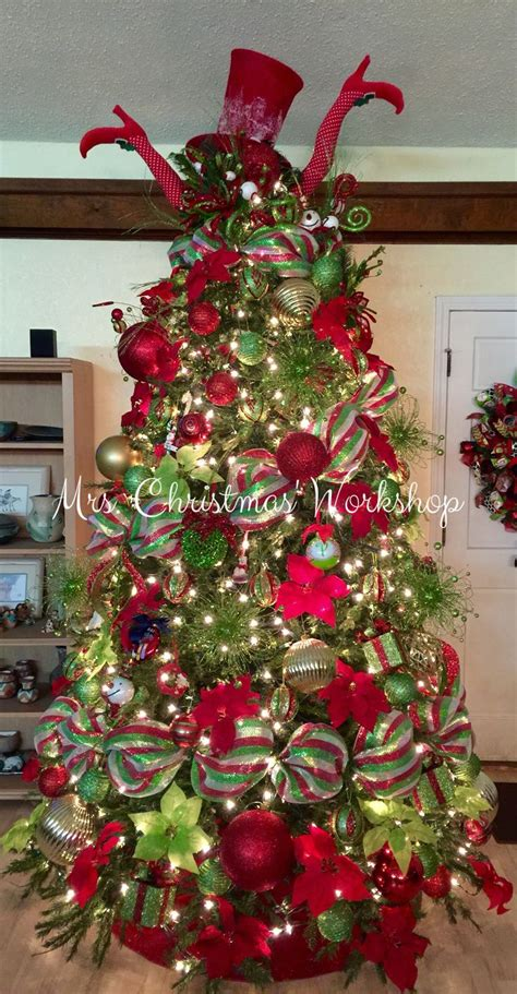Tree Decoration 25 Best Ideas About Mesh Christmas Tree On Pinterest