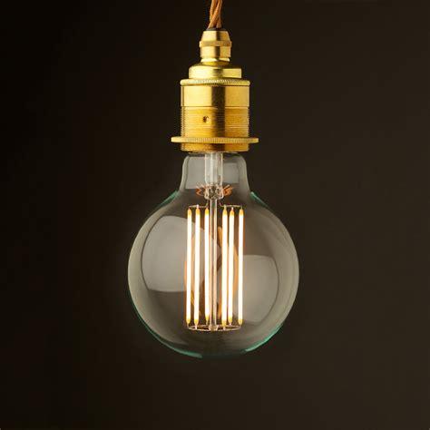Light Pendant Fitting Edison Style Light Bulb E27 New Brass Fitting