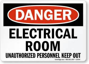 Electrical Room Signs Mysafetysign