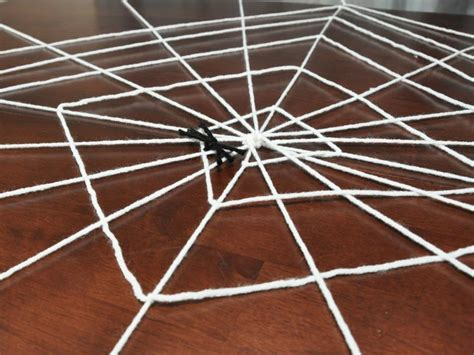 diy spider web decoration diy