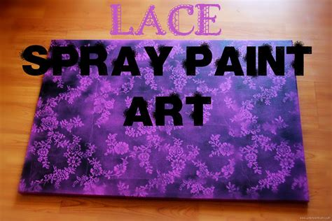 how to spray paint on canvas lace spray paint unknown mami by claudya martinez