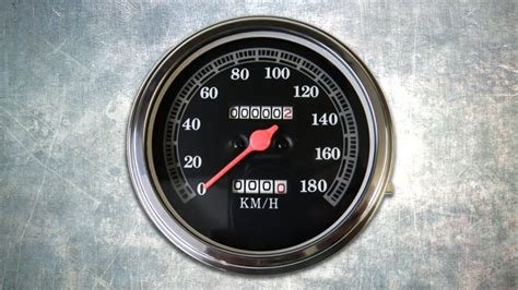 Speedometer Atau Kilometer R High Quality new kph speedo for harley davidson 174 models rollies speed