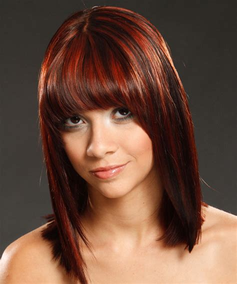 red and dark brown hairstyles 26 pretty brown hair with red highlights for 2013