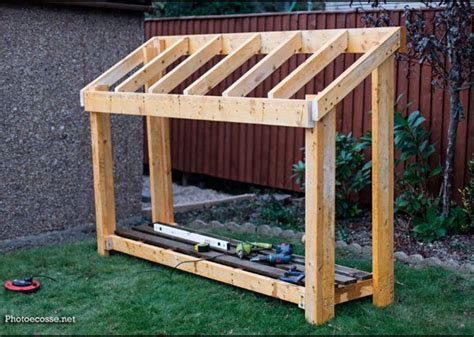diy small wood shed howtospecialist how to build step