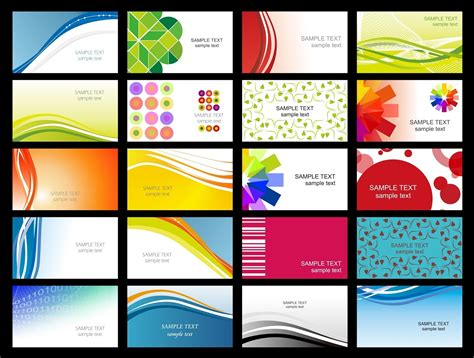 free printable business card design templates business card templates page 19 free printable blank